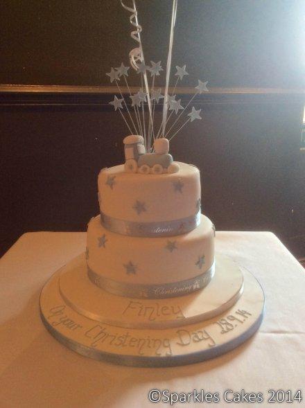 Christening cake 1