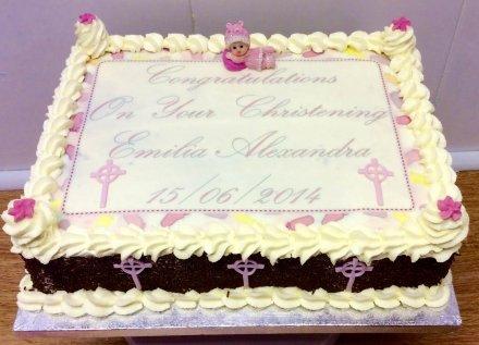 Christening cake 7